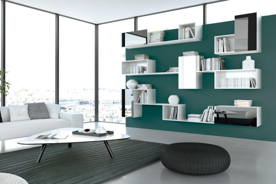 meuble tv bibliothque
