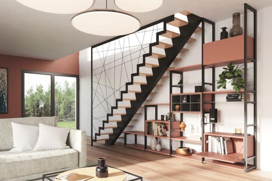 rangement sous-escalier